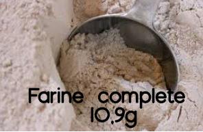 farine complete 10,9g