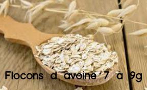 flocons d avoine 7 à 9g