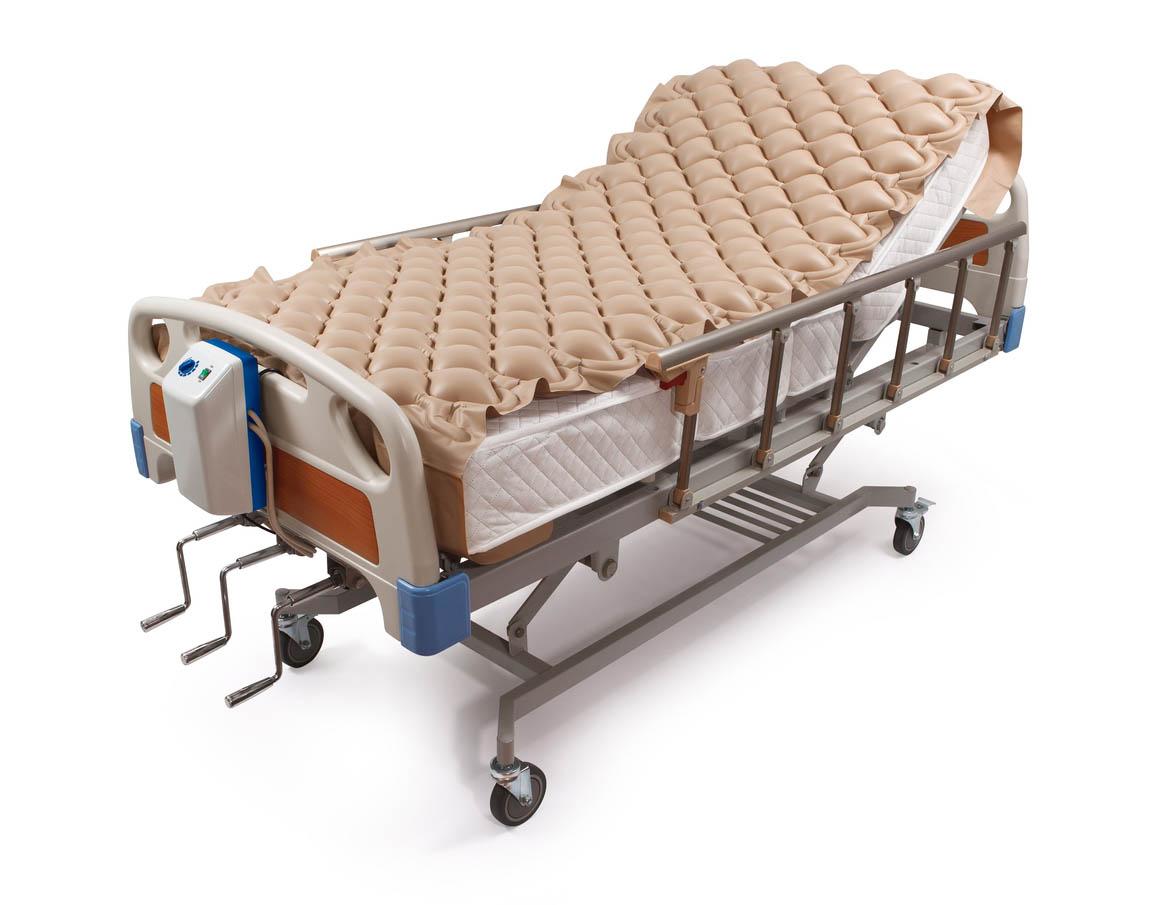 Lit d'hôpital anti escarres