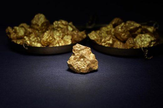 Grosse Pépite d'or
